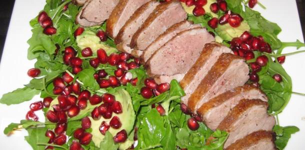 salat andebryst