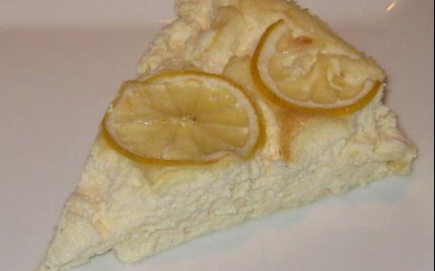 Lemoncheesecake (mælk- og laktosefri)